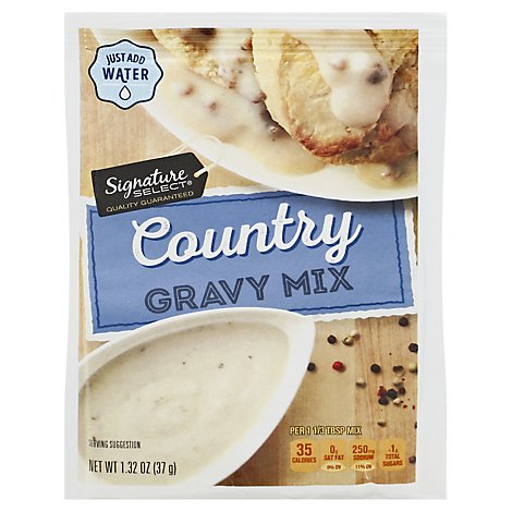 Signature SELECT Gravy Mix Country - 1.32 Oz