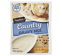 Signature Kitchens Gravy Mix Country - 1.32 Oz