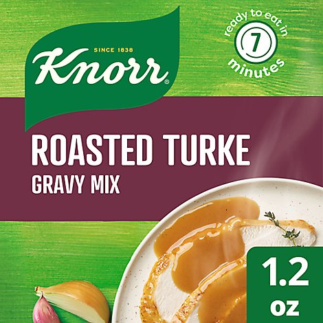 Knorr Gravy Mix Roasted Turkey - 1.2 Oz