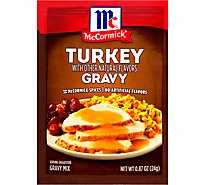 McCormick Gravy Mix Turkey - 0.87 Oz