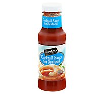 Signature SELECT Cocktail Sauce for Seafood - 12 Oz
