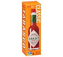 TABASCO Sauce Pepper Original Flavor - 2 Fl. Oz.