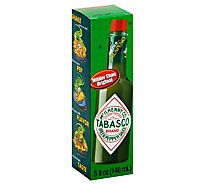 TABASCO Sauce Pepper Green - 5 Fl. Oz.