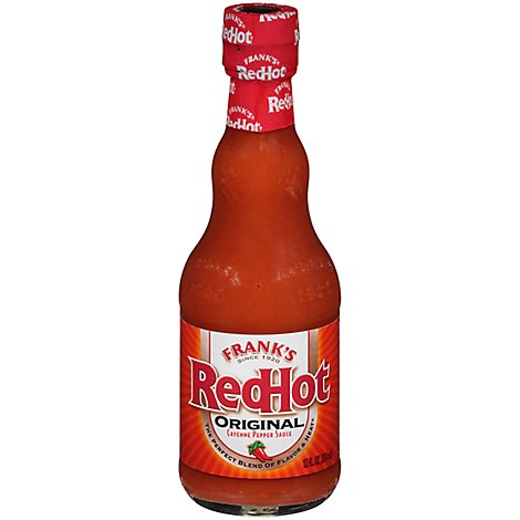 Franks RedHot Sauce Cayenne Pepper Original - 12 Fl. Oz.
