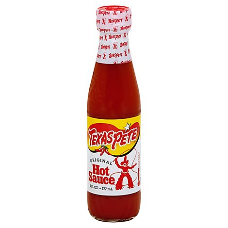 Texas Pete Sauce Hot Original - 6 Oz