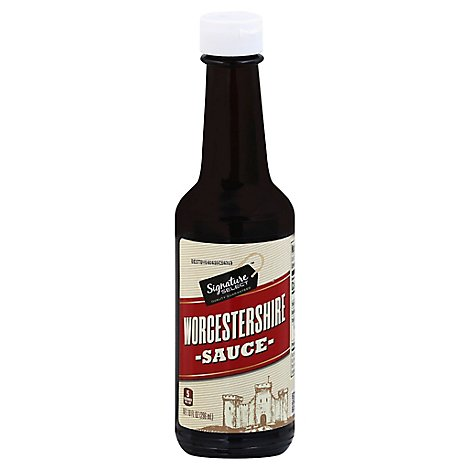 Signature SELECT Sauce Worcestershire - 10 Fl. Oz.