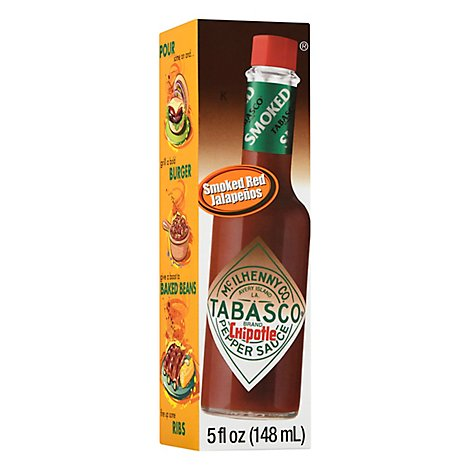 TABASCO Sauce Pepper Chipotle - 5 Fl. Oz.