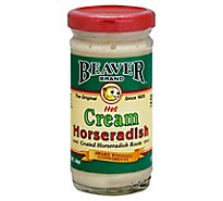 BEAVER Horseradish Cream Hot - 4 Oz