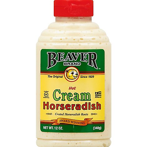 BEAVER Horseradish Cream Hot - 12 Oz