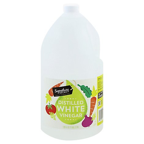 Signature SELECT Vinegar Distilled White - 128 Fl. Oz.