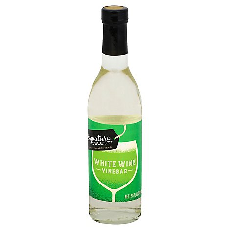 Signature SELECT Vinegar White Wine - 12.5 Fl. Oz.