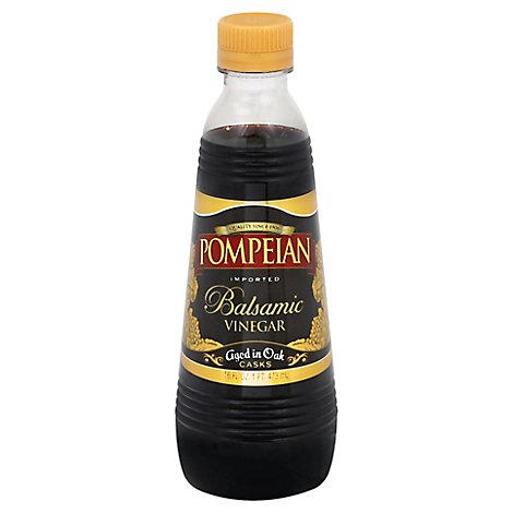 Pompeian Vinegar Balsamic - 16 Fl. Oz.