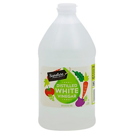 Signature SELECT Vinegar Distilled White - 64 Fl. Oz.
