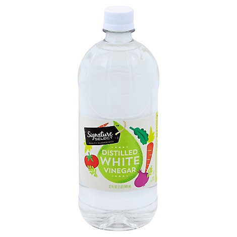 Signature SELECT/Kitchens Vinegar Distilled White - 32 Fl. Oz.