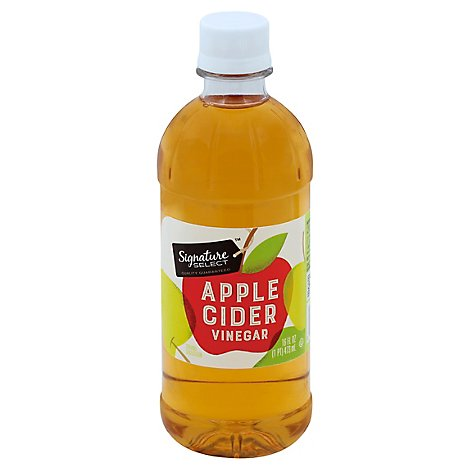 Signature SELECT Vinegar Apple Cider - 16 Fl. Oz.