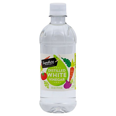 Signature SELECT Vinegar Distilled White - 16 Fl. Oz.