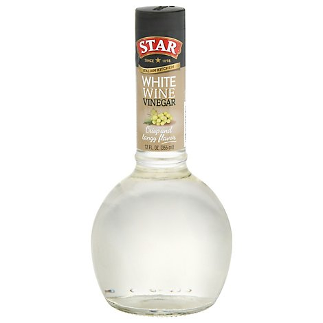 Star Italian Kitchen Vinegar Wine White Rosso - 12 Fl. Oz.