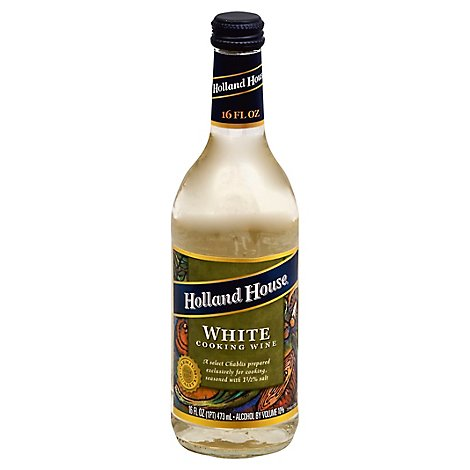 Holland House Cooking Wine White - 16 Fl. Oz.