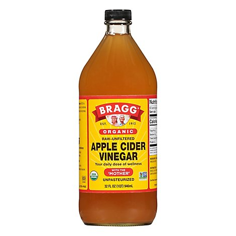 BRAGG Vinegar Apple Cider - 32 Fl. Oz.