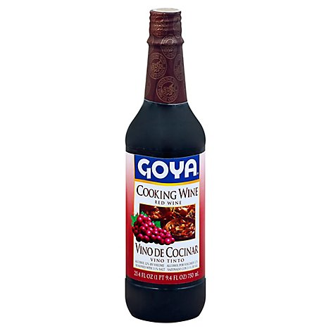 Goya Cooking Wine Red - 25.4 Fl. Oz.