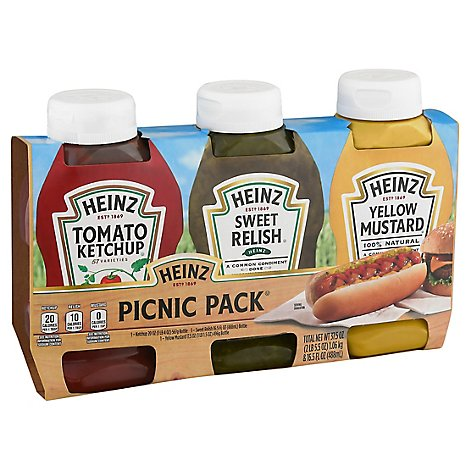 Heinz Picnic Pack - 3 Count