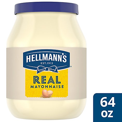 Hellmanns Mayonnaise Real - 64 Oz
