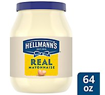 Hellmanns Mayonnaise Real - 64 Fl. Oz.
