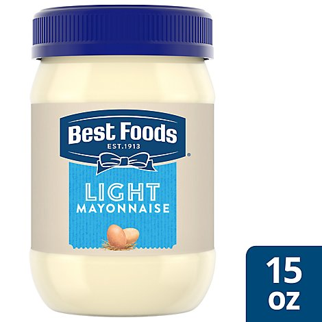 Best Foods Mayonnaise Light - 15 Oz