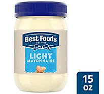 Best Foods Mayonnaise Light Made With Cage Free Eggs - 15 Fl. Oz.