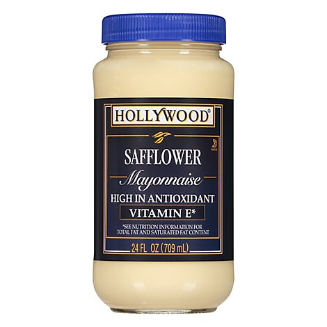 Hollywood Mayonnaise Safflower - 24 Fl. Oz.