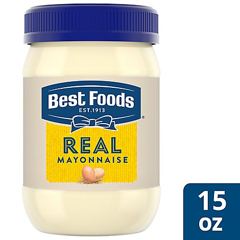 Best Foods Mayonnaise Real - 15 Oz
