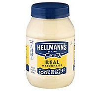Hellmanns Mayonnaise Real - 30 Oz