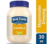 Best Foods Mayonnaise Dressing Canola - 30 Oz