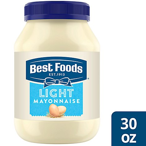 Best Foods Mayonnaise Light - 30 Oz