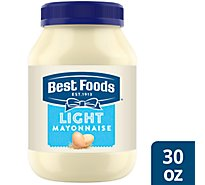 Best Foods Mayonnaise Light Made With Cage Free Eggs - 30 Fl. Oz.