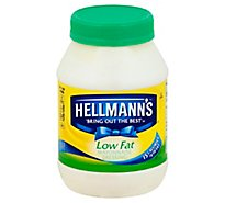 Hellmanns Mayonnaise Low Fat - 30 Oz