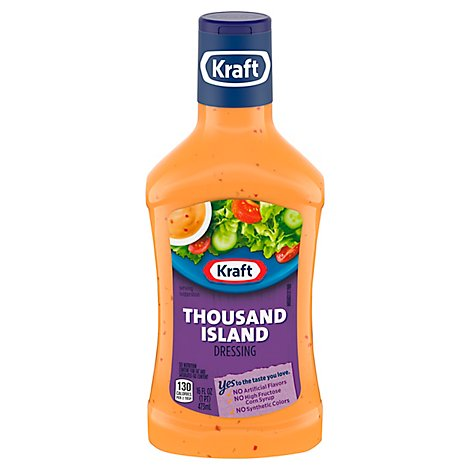 Kraft Dressing Thousand Island - 16 Fl. Oz.