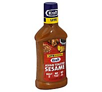 Kraft Dressing Lite Asian Toasted Sesame - 16 Fl. Oz.