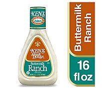 Kens Steak House Dressing Buttermilk Ranch - 16 Fl. Oz.