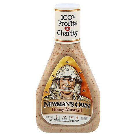 Newmans Own Lite Dressing Honey Mustard - 16 Fl. Oz.