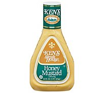 Kens Steak House Dressing Honey Mustard - 16 Fl. Oz.
