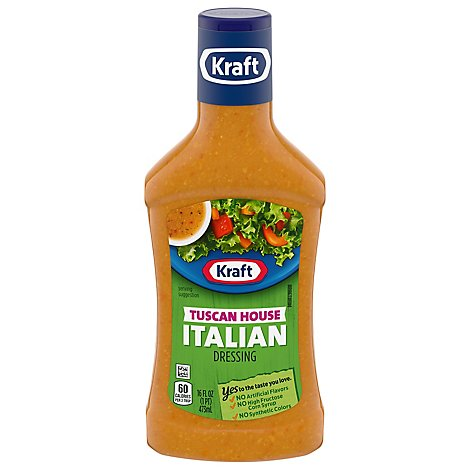 Kraft Dressing Tuscan House Italian - 16 Fl. Oz.