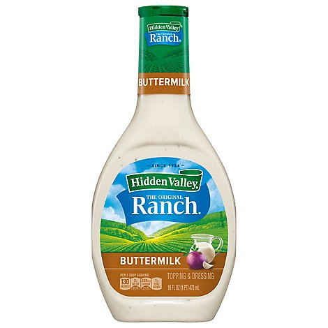 Hidden Valley The Original Ranch Dressing Buttermilk - 16 Fl. Oz.