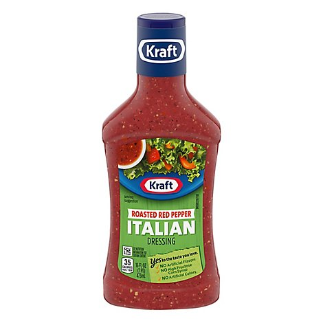 Kraft Dressing Italian Roasted Red Pepper - 16 Fl. Oz.