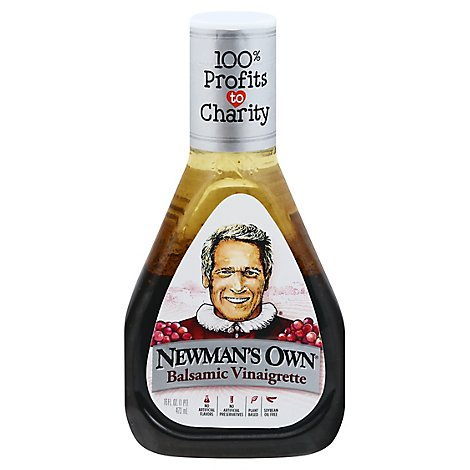 Newmans Own Dressing Balsamic - 16 Fl. Oz.