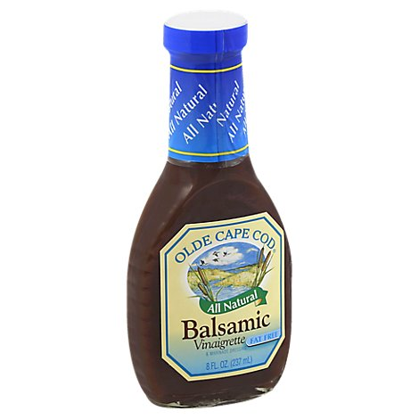 Olde Cape Cod Dressing Fat Free Balsamic Vinaigrette & Marinade - 8 Fl. Oz.