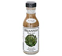 BRIANNAS Dressing Home Style Vinaigrette Real French - 12 Fl. Oz.