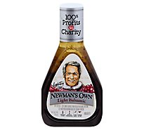 Newmans Own Lite Vinaigrette Balsamic - 16 Fl. Oz.