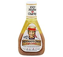 Newmans Own Lite Dressing Italian - 16 Fl. Oz.