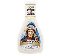 Newmans Own Dressing No MSG Ranch - 16 Fl. Oz.